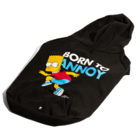 Hoodie Bart Simpson Born To Annoy